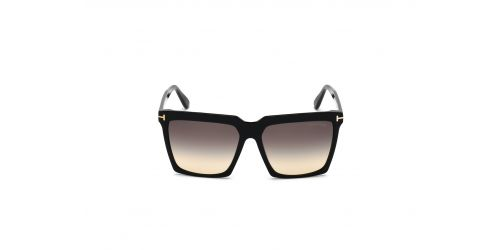 Tom Ford FT0764 SABRINA-02 - 01B - Negro Brillo / Gris Degradado - 58 mm