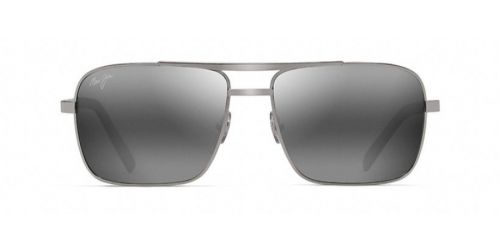 Maui Jim COMPASS - Plateado - 59 mm