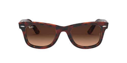 Ray-Ban RB2140 WAYFARER - 1275A5 - Transparent Red On Havana - 50 mm