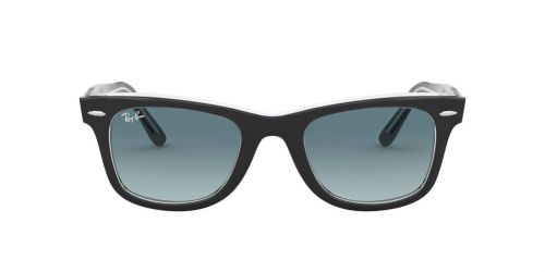 Ray-Ban RB2140 WAYFARER - 12943M - Black On Transparent - 50 mm