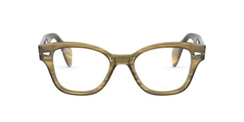 Ray-Ban RX0880 - 8056 - Striped Yellow - 49 mm