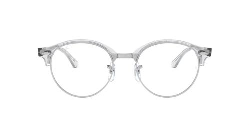Ray-Ban RX4246V CLUBROUND - 2001 - White Transparent - 47 mm